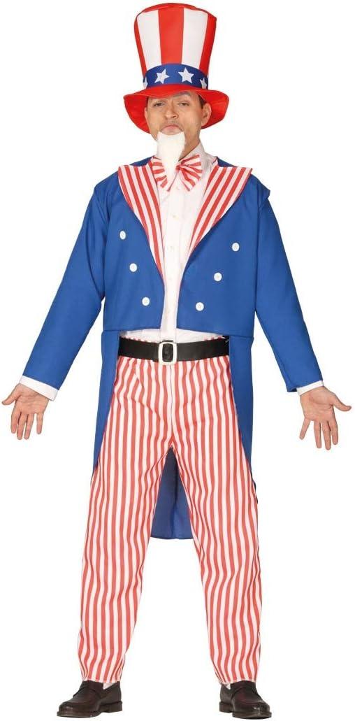 FIESTAS GUIRCA Disfraz de tio Sam te Quiero señor America