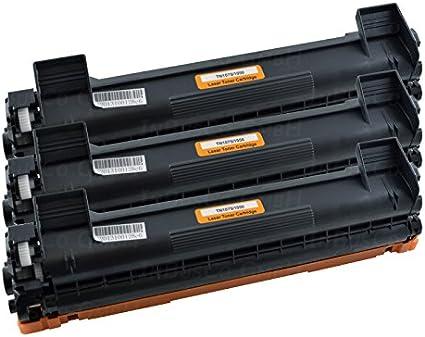 3 x Cartucho TN1050 para Brother HL 1110/hl-1110e/HL de 1112R/HL ...