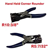 R10:3/8''+R5:7/32''Manual Hand Held Card Corner Rounder Cutter Pouch