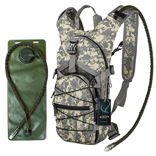 "G4Free hydration pack Sports runner Hydration Backpack With Bladder (19.68""x 8.26""x 4.72"")"