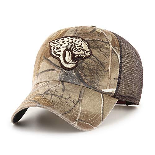 3cd487cacd2eac OTS NFL Jacksonville Jaguars Male Ledgewood Challenger Adjustable Hat,  Realtree, One Size