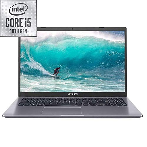 Asus X509JA 15.6-inch Laptop, Intel Core i5-1035G1, 8 GB RAM, 256 GB SSD, Windows 10 Home