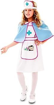 Fyasa 720832-t01 – Disfraz de enfermera para niña, tamaño mediano