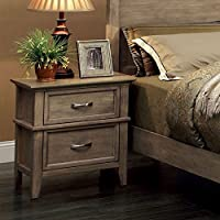 247SHOPATHOME Idf-7351N, nightstand, Oak