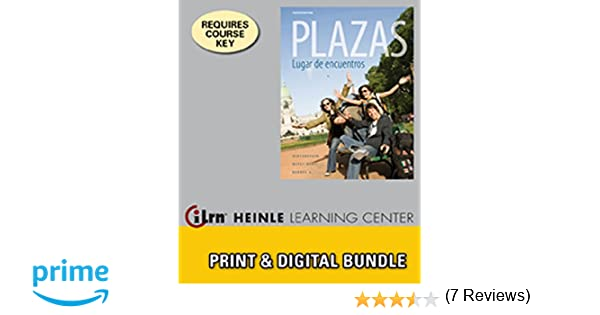 Amazon Bundle Plazas 4th ILrnTM Heinle Learning Center Printed 3 Terms 18 Months Access Card 9781111698683 Robert Hershberger