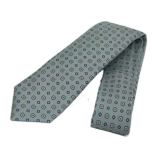 Gucci Patterned Sea Foam Green Woven Silk Tie 368200 ()
