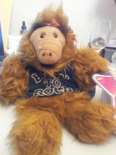 The Many Faces of Alf: Plush Born to Rock Hand Puppet