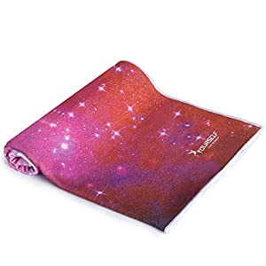SYOURSELF Yoga Towel-72 x24 – Non Slip,Ultra Absorbent,Soft-Perfect Microfiber Hot/Skidless/Bikram Yoga Towel for Fitness, Exercise,Sports& Outdoors +Travel Bag