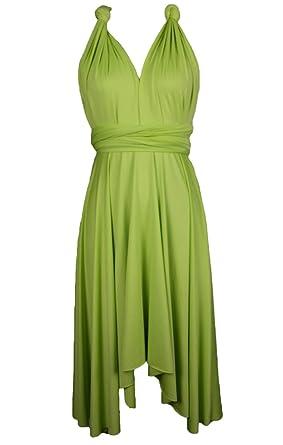 575f2df1e96 Edaydress Plus Size high Low Hem Dress Infinity Dresses Short ...