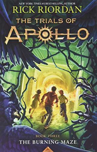 The Trials of Apollo, Book Three The Burning Maze (Trade Signed Edition)