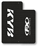 Factory Effex (10-38012) White Upper Fork Shield Graphic
