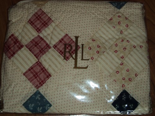Ralph Lauren North Creek Quilt Sham (Quilts Lauren Ralph)