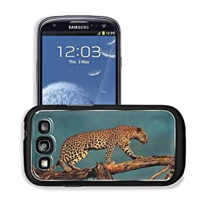 Animals Wildlife Leopards Cross Trunk Samsung I9300 Galaxy S3 Snap Cover Premium Aluminium Design Back Plate Case Customized Made to Order Support Ready 5 3/8 inch (136mm) x 2 7/8 inch (73mm) x 7/16 inch (11mm) MSD Galaxy_S3 Professional Metal Cases Touch wangjiang maoyi