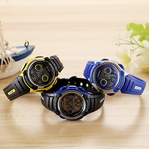 7-Colors-Kids-Sports-Watches-Children-For-Girls-Boys-Waterproof-Military-Dual-Display-LED-Kids-Watch