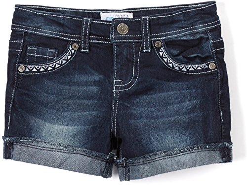 tobeinstyle-girls-denim-shorts-dark-navy-fade-denim-10