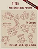 img - for Cute Mermaids Hand Embroidery Patterns book / textbook / text book