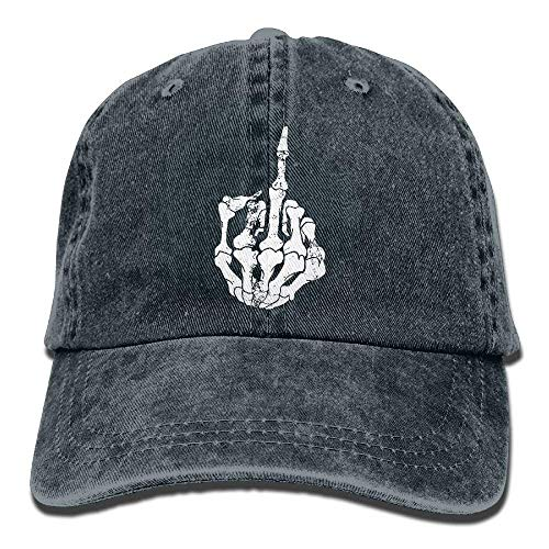 Fuck Men Hats Sport Women DEFFWB Skull Skull Cowboy for Hat Denim Cowgirl Cap O4R4P5wq