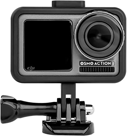 Universal Connector Adapter ULANZI Flycoo Frame Cage Aluminum Alloy Frame for DJI Osmo Action Shockproof Frame Protective Expansion Kit Adaptable 2 /× Cold Shoe Shell 1//4 Inch Screw