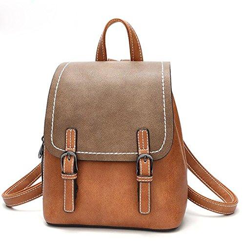 de à décontracté dos 13 multifonctionnel 20 25cm à sac en PU cuir sac main Sac souple mode la femmes des dqdw6f