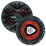 BOSS Audio CH6500 200 Watt (Per Pair), 6.5 Inch, Full Range, 2 Way Car Speakers (Sold in Pairs)
