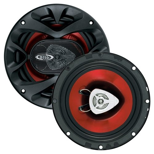 BOSS Audio CH6500 Car Speakers - 200 Watts of Power Per Pair and 100 Watts Each, 6.5 Inch, Full Range, 2 Way, Sold in Pairs, Easy Mounting