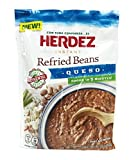 Herdez Instant Refried Beans Queso Pouch (Pack of 3) - 5.8 oz
