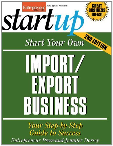 Start Your Own Import/Export Business pdf epub