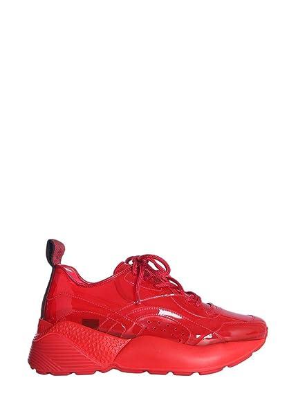 a2f2550e2be8d Stella Mccartney Mujer 558876W1IU56576 Rojo Poliuretano Zapatillas  Amazon. es  Zapatos y complementos