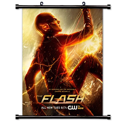The Flash Wb TV Show Fabric Wall Scroll Poster