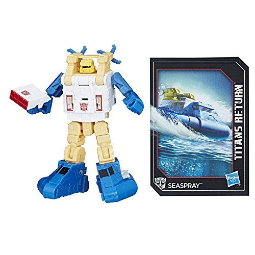 Transformers: Generations Titans Return Legends Class Seaspray