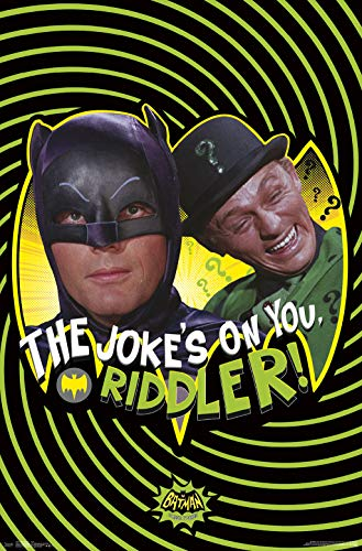 Trends International 1966 Batman-Joke Mount Bundle Wall Poster, 22.375