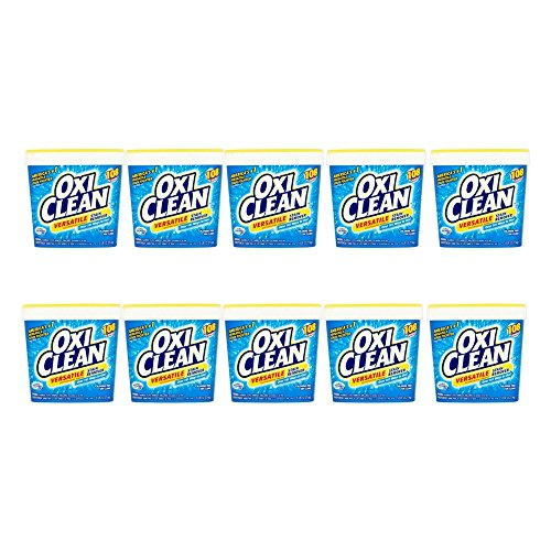 OxiClean Versatile Stain Remover, 5 lbs (2.27 kg) (pack of 10) by OxiClean
