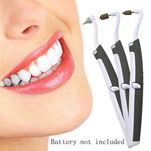 کیت سفید کننده دندانهای ZHUOTOP Sonic LED دندان پاک کن پولیش Tartar پلاک ضد عفونی کننده دهان و دندان