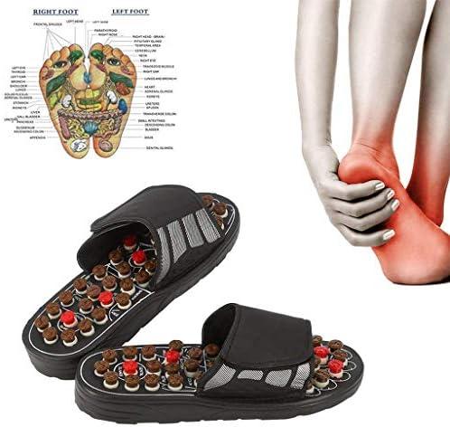指圧足マッサージマットスリッパサンダル男性のための関節炎を追体験背中の痛みのリフレクソロジーマッサージャー神経障害関節炎足底筋膜炎