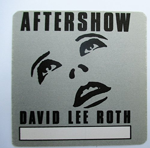 Backstage Pass Van - David Lee Roth Satin Backstage Pass After Show Van Halen