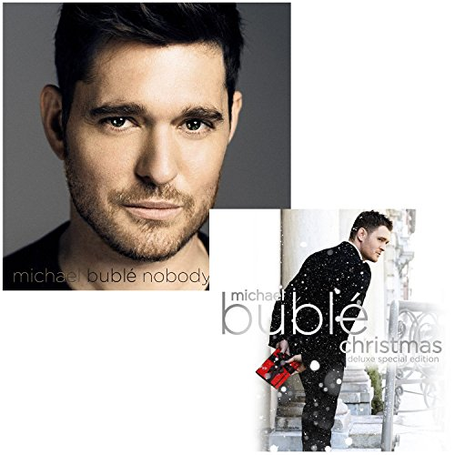 Nobody But Me (Deluxe Edition) - Christmas (Deluxe Edition) - Michael Buble 2 CD Album Bundling (Michael Buble The Best Of Michael Buble)