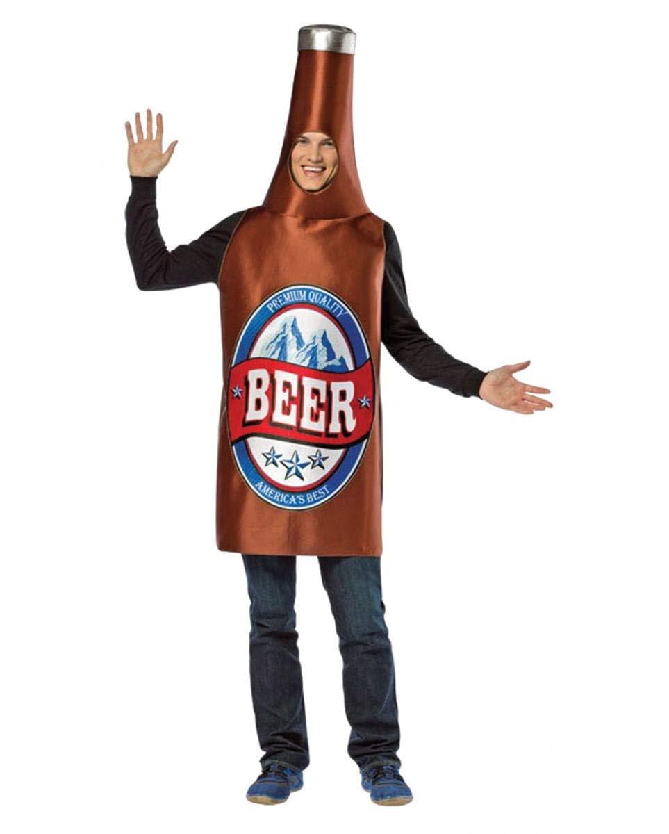Horror-Shop Botellas de cerveza del traje marrón