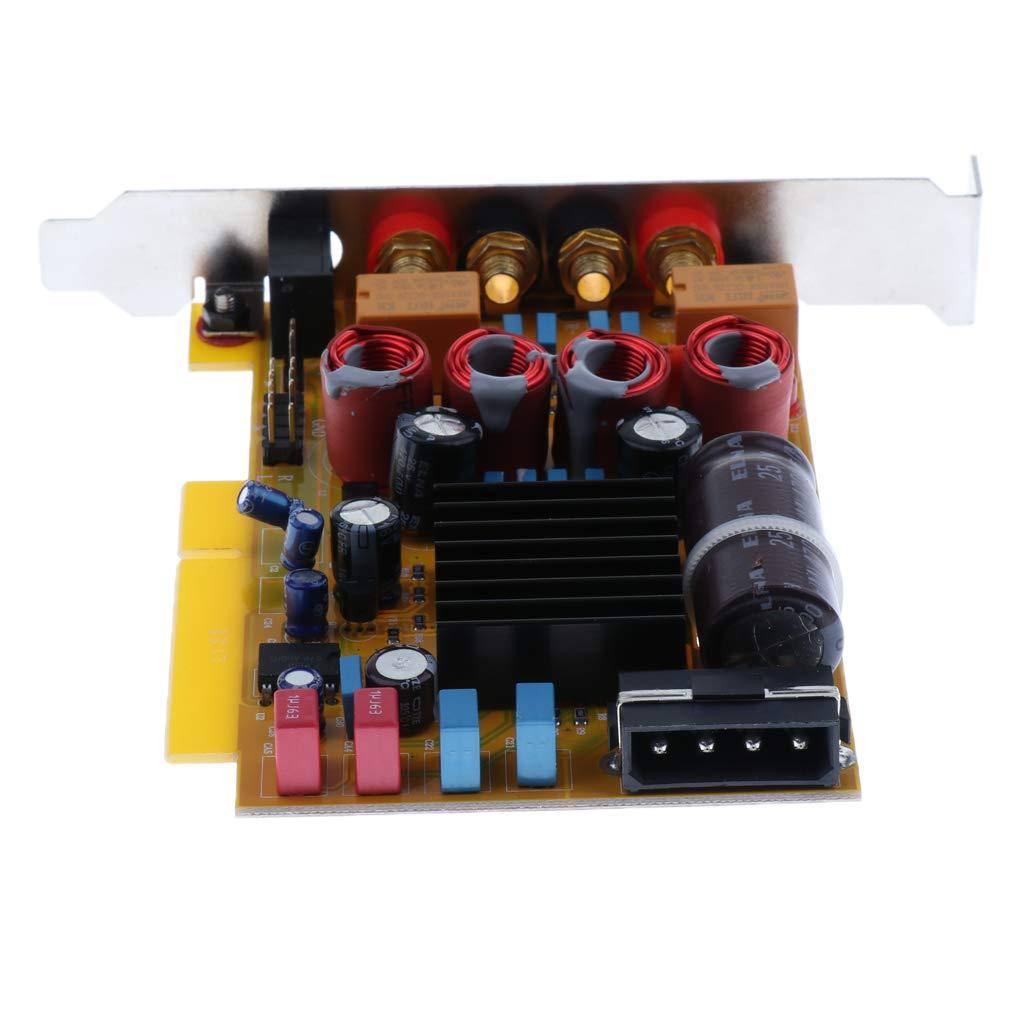 D DOLITY TPA3116D2 Dual Canales Amplificador para Sistema de Sonido PC Altavoz Hogar, 50W + 50W