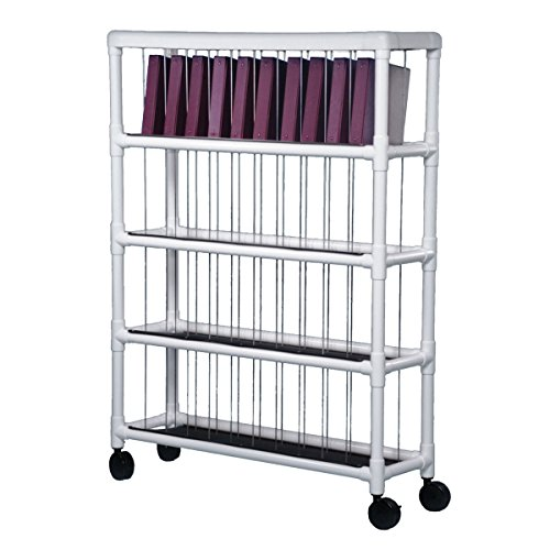 Notebook Chart Rack - Holds 40 Ring Binders (Notebook Chart Rack)