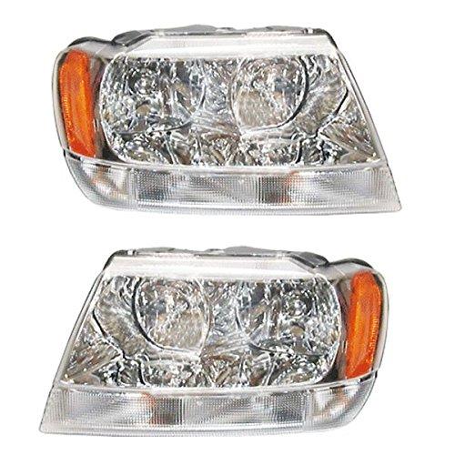 04 jeep grand cherokee headlights - 5