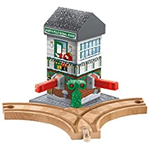 Fisher-Price Thomas & Friends Wooden Railway Battery-Operated Christmas Crossings