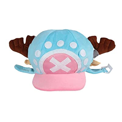 Gumstyle One Piece Tony Tony Chopper Anime Cosplay Costume Plush Hat 1: Clothing