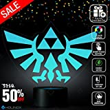 Legend of Zelda Triforce Lighting Decor Gadget Lamp , Awesome Gift (MT022)