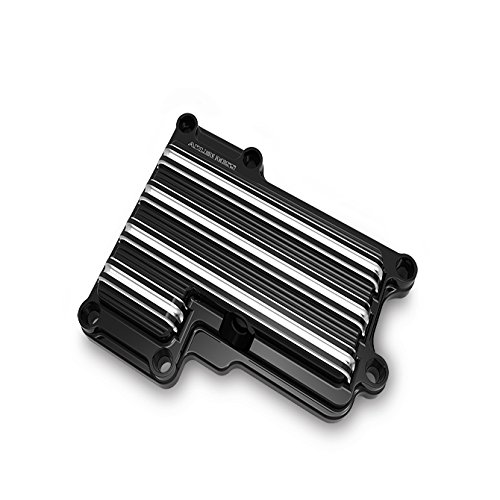 Transmission Gauges (Arlen Ness 03-853 Black 10 Gauge Top Transmission Cover)