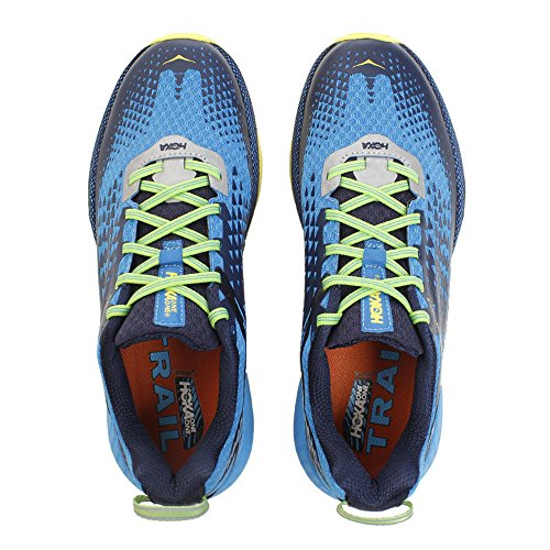 Hoka One One Speed Instinct 2 Blu e Giallo Scarpe da Trail