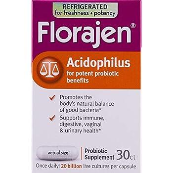 Amazon Com Florajen Acidophilus High Potency Refrigerated