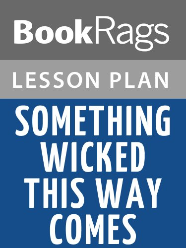 Lesson Plans Something Wicked This Way Comes