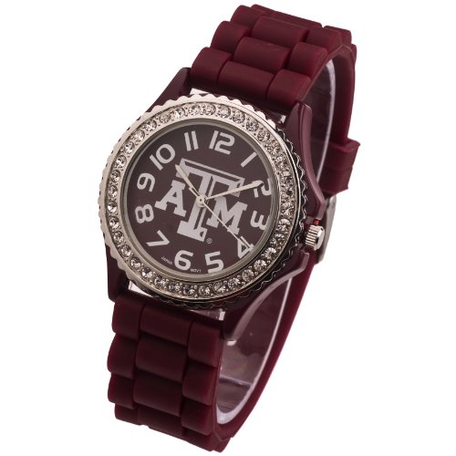 (TEXAS A&M AGGIES WATCH-TEXAS A&M LADIES JELLY WATCH)
