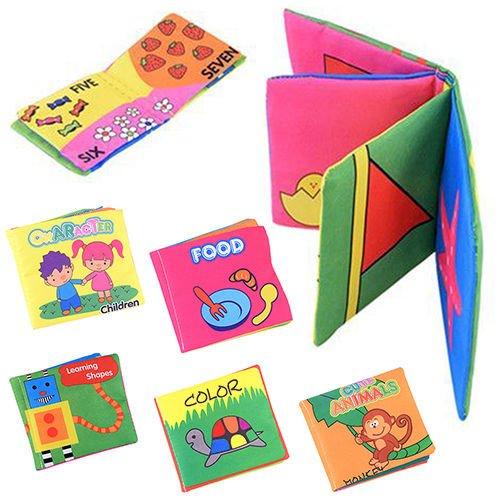 [Pretty Likesome Infant Baby Children Kids Development Cloth Book Cognize Toys : Shapes Model] (Doc Mcstuffins Costume Toys R Us)
