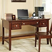 Oslo Writing Desk w Keyboard Drawer in Cherry